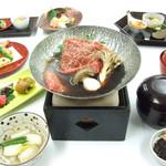 日本料理 橘 - 季節限定 牛すき鍋
