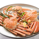 日本料理 橘 - 越前蟹は冬の味覚の王者
