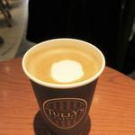 タリーズコーヒー - ドリンク写真:ラテ・アートはなし