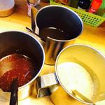 洋食工房パセリ - みそ、ソース、マスタード~ෆ̈←コレがめちゃ好き