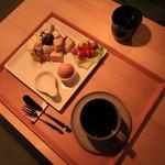 ハンモックとくつろぐ古民家fe 926 - 朝食セット