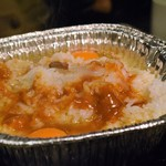 徳川ホルモンセンター - 食べ放題のご飯、たまご、テールスープで作ったクッパ