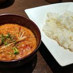 インドの恵み - カダイチキンカレー