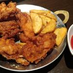 インドの恵み - インド風鶏の唐揚げ~パコラ~