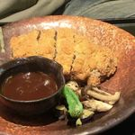 味の蔵 - 「飛騨牛メンチカツ膳」