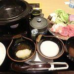 味の蔵 - 「恵那すき焼き膳」