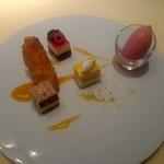 シェ松尾・松濤レストラン - 本日のデザート