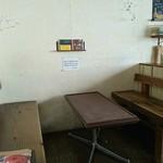 クレープカフェ ココ - 4人掛け席。
