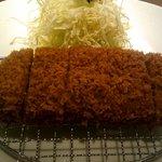 とんかつ まい泉 大丸東京レストラン - ひれかつ定食(1680円)