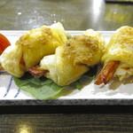旬鮮居食屋 知花冷凍食品 - 車海老パイ包み焼き(600円)
