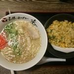 長浜ラーメン 庄 - 料理写真: