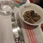 ルグドゥノム ブション リヨネ - 平日ランチ レンズ豆のサラダ