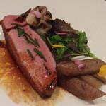 ルグドゥノム ブション リヨネ - 平日ランチ 季節のお肉(鴨)