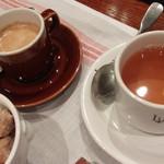 ルグドゥノム ブション リヨネ - エスプレッソ&紅茶