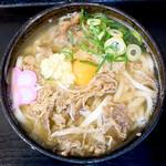 麺処 綿谷 - 肉うどん