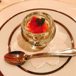 コット ア コット - 料理写真:スモークサーモンとクスクスのマリネ