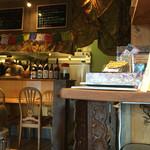 グリーンマンゴー - キッチンとカウンター席