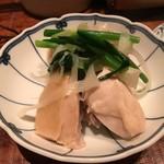 62846571 - 水炊き(梅コース)前菜