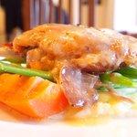 62848603 - ランチコース 3432円 の当店自慢フランス伝統料理 鴨のコンフィー