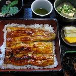 和食処はしやま - 料理写真:うな重並1950円