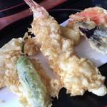 そば処 尾張屋 - 海老が特に美味い天ぷら。