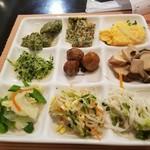 ちこり村 - 野菜類中心のバイキング  2回目