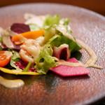62851238 - 鎌倉野菜のKOSOサラダ
