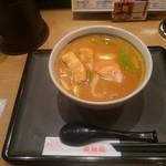 若鯱家 - 名物カレーうどん 800円(税別)