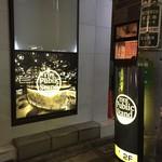 The Public stand - 照明看板