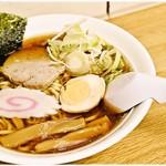 駅そば大宮 - 佐野ラーメン 500円 「佐野ラーメン」という言葉に過剰な期待を抱くのは×。