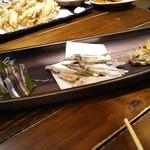 九州 熱中屋 - きびなご3種
