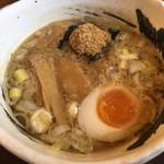 麺屋 べんてん - つけ麺のスープ