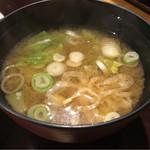 62859416 - 味噌汁(ガーリックステーキセット)