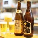 エビス瓶ビール(中瓶)