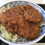 曽山商店 - ソースかつ丼