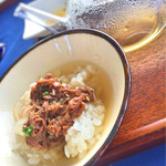 レストラン エタデスプリ - 宮古牛しぐれ煮のお茶漬け