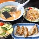 好々亭 - 料理写真:デラックスセット