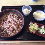 後楽園そば - 肉そば ¥750