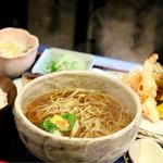 篠のめ - 天ぷらそば定食
