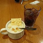 シズラー ランドマークプラザ店 - スープとドリンク(セルフ)