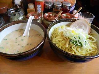 俺流塩らーめん 神楽坂店  - つけ麺(大盛り)