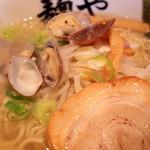 拉麺専門店 麺や - 2017年2月 あさりの力のアップ