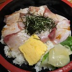 Uomamireshinkichi - ぶりのあぶり丼定食900円