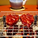和田金 - 網焼きです。