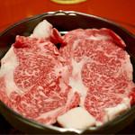 和田金 - 鍋に2キレ入れます。