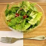 トス サラダ - ベースサラダ ラージ @690円 に追加トッピング5種 合計@1,040円のオリジナルサラダ