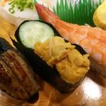 浜寿司 - 穴子    ウニ   旨かったです