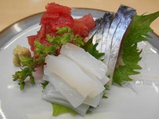 魚竹 - 刺身3点盛り