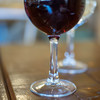 ソットテット - ドリンク写真:赤葡萄酒(さけ)の玻璃盞(ぐらす)