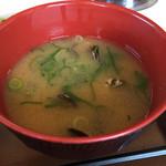 すき家 - しじみの味噌汁